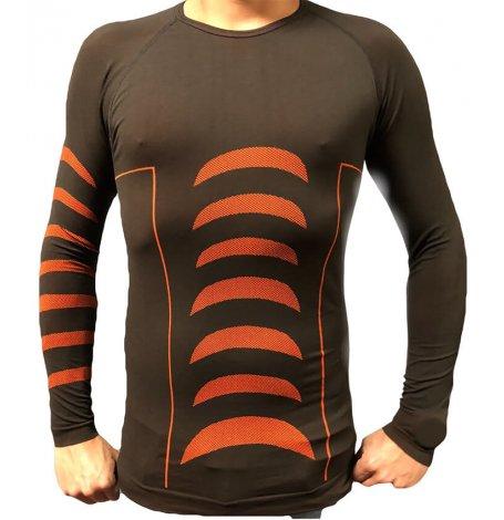 T shirt thermique x dry Orange