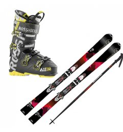PACK SPORT LOCATION SKI UNIQUE 6W