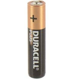 Piles Duracell AAA PACK DE 4
